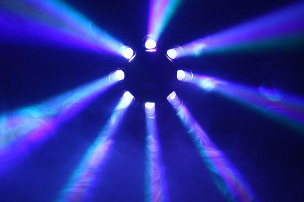 Renforcement éclairage avec lasers, scans...